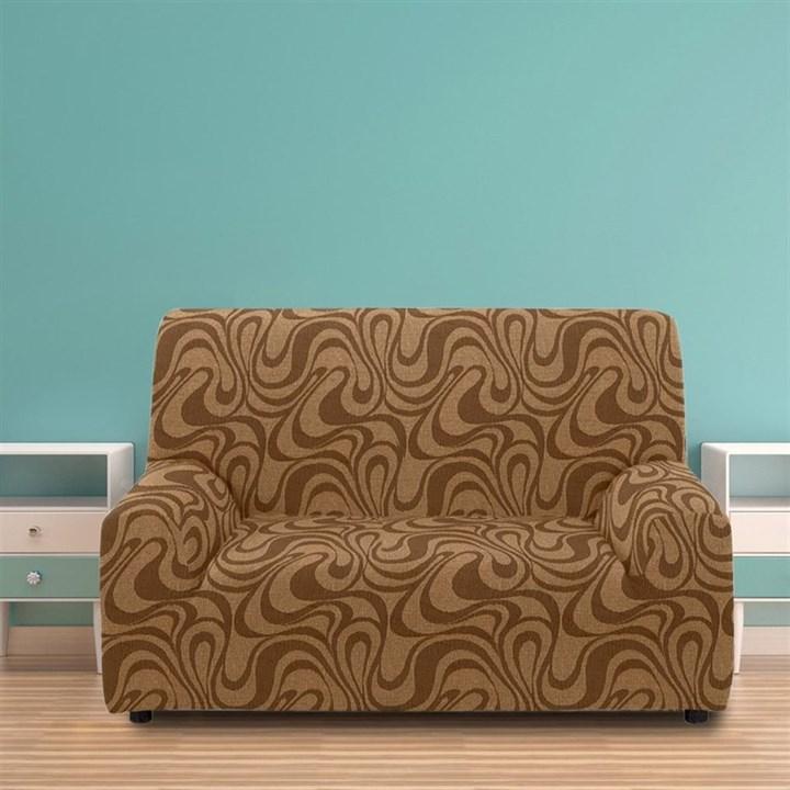 ДАНУБИО МАРОН Чехол на 2-х местный диван от 120 до 170 см - фото 12798