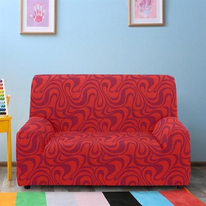 ДАНУБИО НАРАНИЯ Чехол на 2-х местный диван от 120 до 170 см - фото 12802