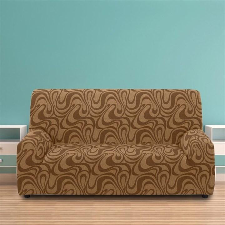 ДАНУБИО МАРОН Чехол на 3-х местный диван от 170 до 230 см - фото 12806