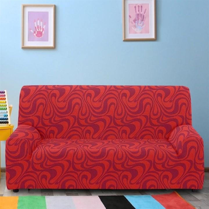 ДАНУБИО НАРАНИЯ Чехол на 3-х местный диван от 170 до 230 см - фото 12808