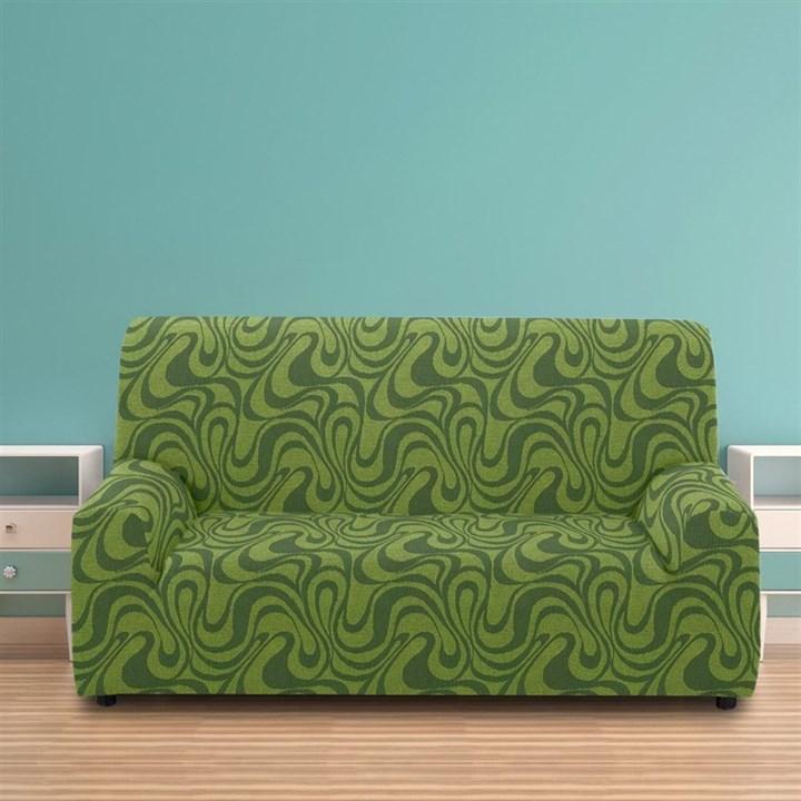 ДАНУБИО ВЕРДЕ Чехол на 3-х местный диван от 170 до 230 см - фото 12811