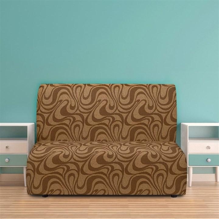 ДАНУБИО МАРОН Чехол на диван без подлокотников от 160 до 210 см - фото 12814