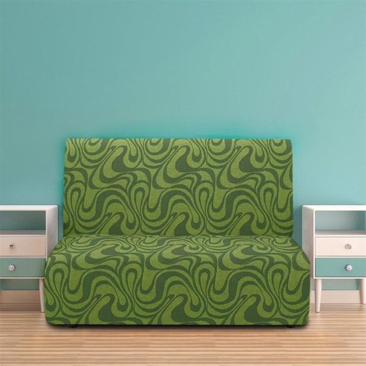 ДАНУБИО ВЕРДЕ Чехол на диван без подлокотников от 160 до 210 см - фото 12815