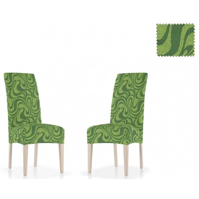 ДАНУБИО ВЕРДЕ Чехлы на стулья со спинкой (2 шт.) - фото 12818