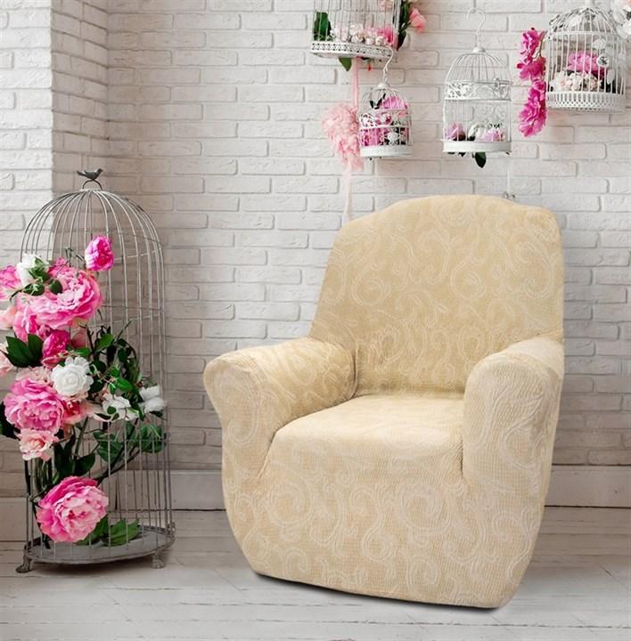 БОСТОН МАРФИЛ Чехол на кресло от 70 до 110 см - фото 12819