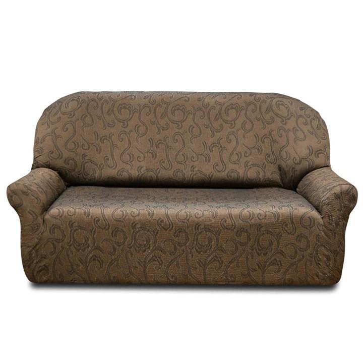 БОСТОН МАРОН Чехол на 2-х местный диван от 120 до 170 см - фото 12828