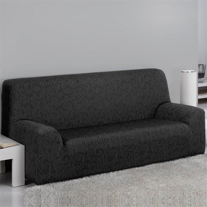 БОСТОН НЕГРО Чехол на 3-х местный диван от 170 до 230 см - фото 12839