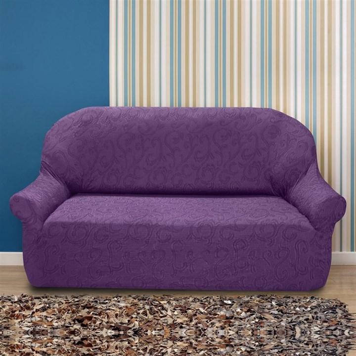 БОСТОН МАЛВА Чехол на 3-х местный диван от 170 до 230 см - фото 12840