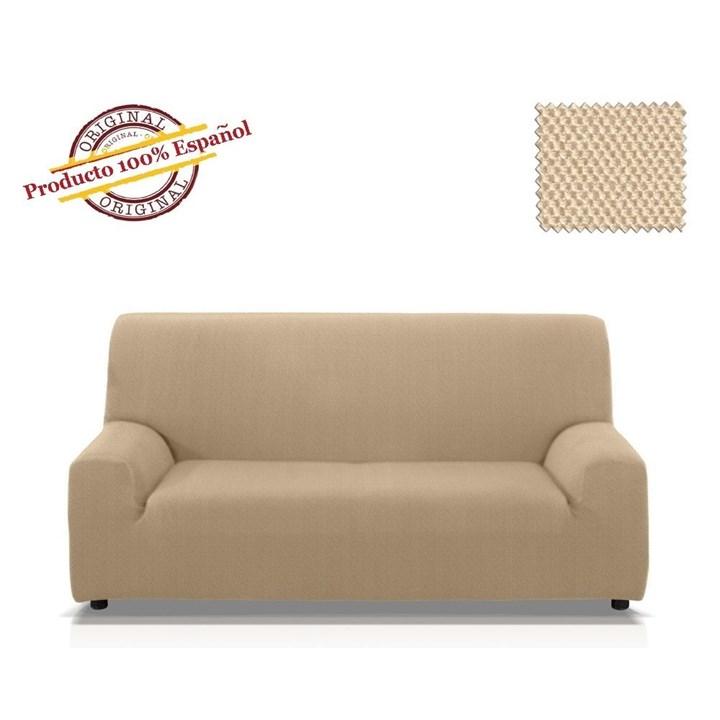 ВЕНА БЕЖ Чехол на 3-х местный диван от 170 до 230 см - фото 13402