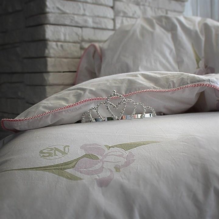 Одеяло пуховое Natures Царственный Ирис 200х220 зимнее - фото 13815