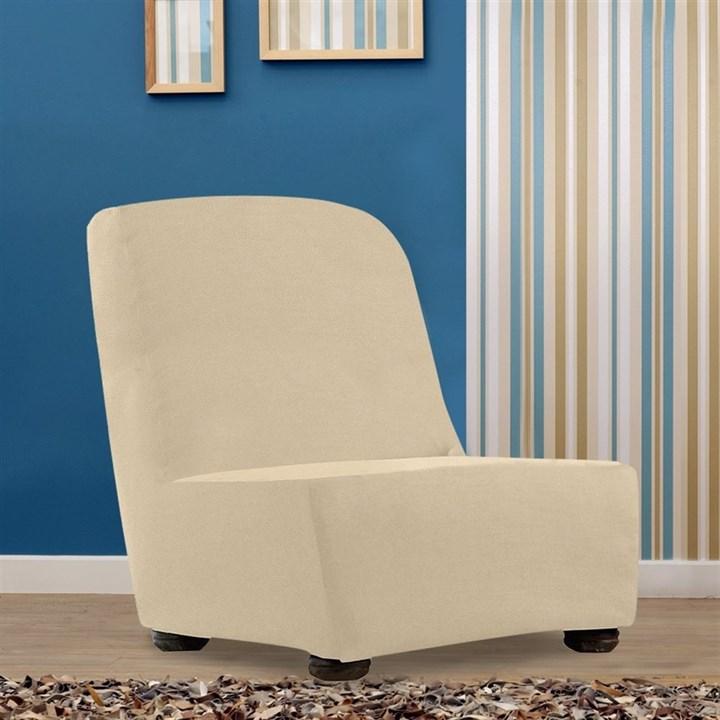 АЛЯСКА МАРФИЛ Чехол на кресло без подлокотников от 70 до 110 см - фото 13948