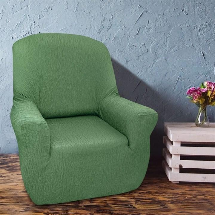 ТЕЙДЕ ВЕРДЕ Чехол на кресло от 70 до 110 см - фото 13973