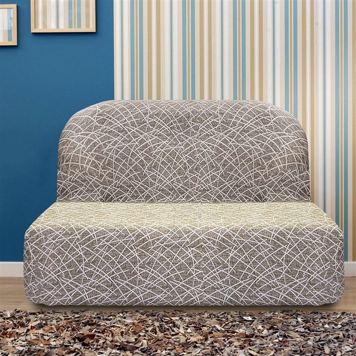 ГРЕЦИЯ ВИСОН Чехол на диван без подлокотников от 160 до 210 см - фото 14005
