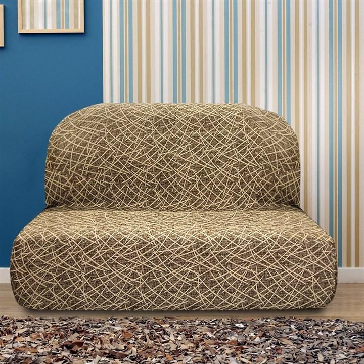 ГРЕЦИЯ МАРОН Чехол на диван без подлокотников от 160 до 210 см - фото 14009