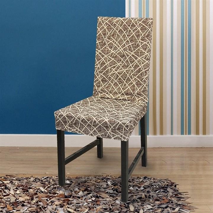ГРЕЦИЯ МАРОН Чехлы на стулья со спинкой (2 шт.) - фото 14065