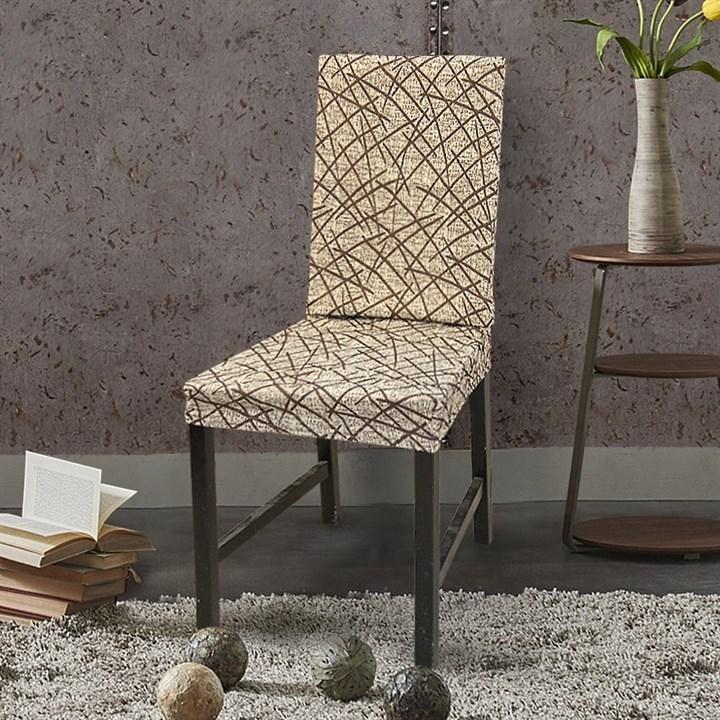 ГРЕЦИЯ БЕЖ Чехлы на стулья со спинкой (2 шт.) - фото 14067