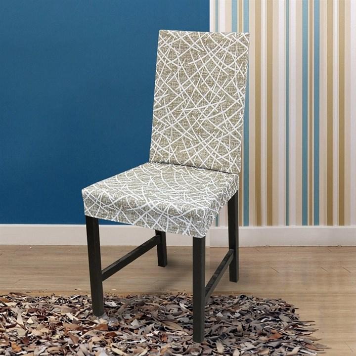 ГРЕЦИЯ ВИСОН Чехлы на стулья со спинкой (2 шт.) - фото 14069