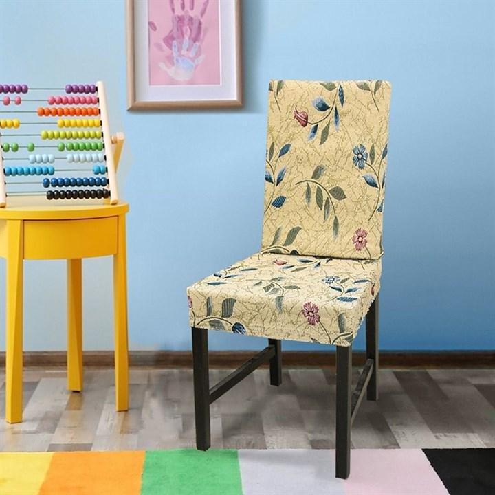 РОЯЛЬ Чехлы на стулья со спинкой (2 шт.) - фото 14070