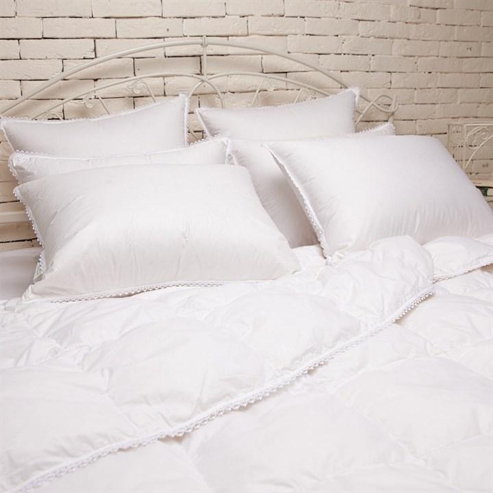 Одеяло пуховое Natures Идеальное приданое 200х220 всесезонное - фото 14085