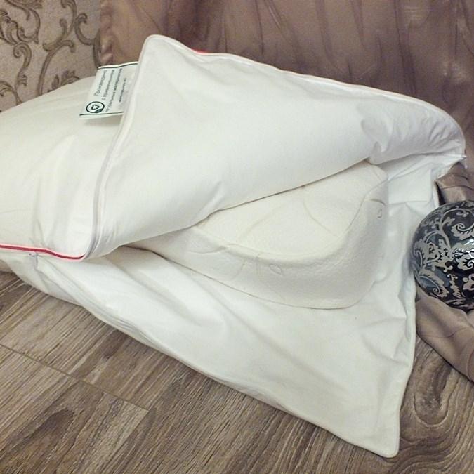 Подушка-трансформер с эффектом памяти Natures Дивная услада 50х68 - фото 14282