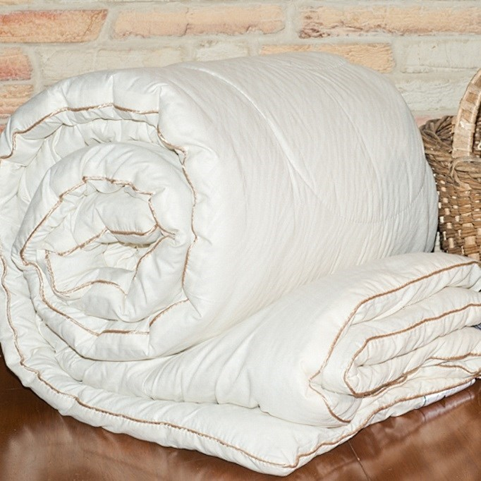 Одеяло овечье Natures Шерстяной завиток 172х205 всесезонное - фото 14373