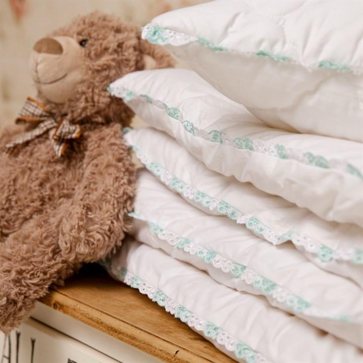 Подушка детская Natures Бамбуковый медвежонок 40х60 регулируемая - фото 14745