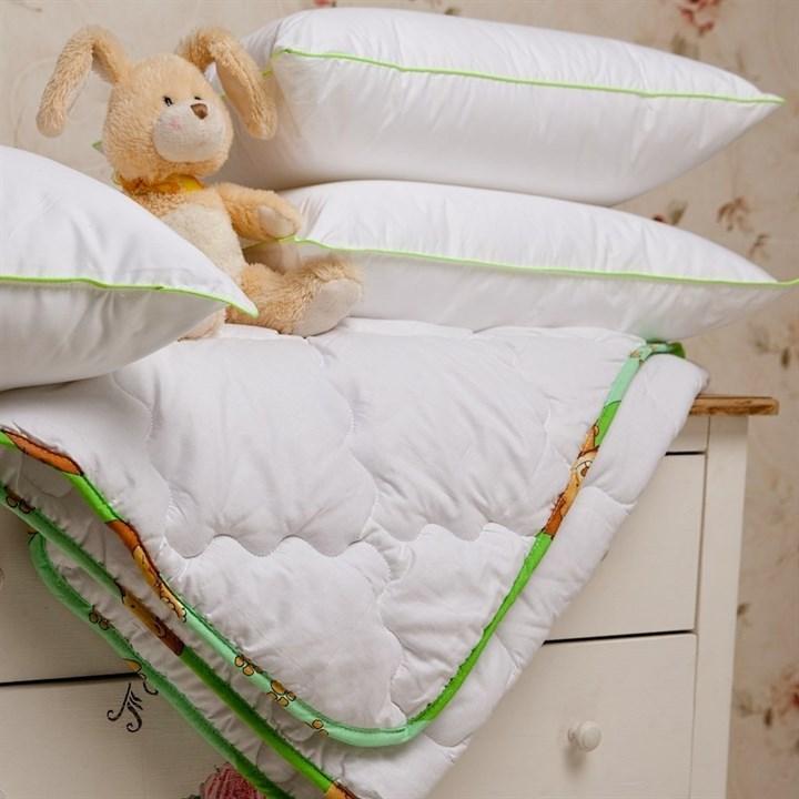 Подушка детская Natures Бамбуковый медвежонок 40х60 - фото 14748