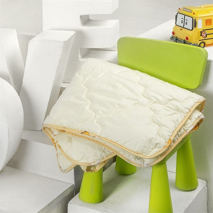 Одеяло детское Natures Забавная овечка 100х150 всесезонное - фото 14768