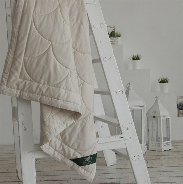 Одеяло Flaum Farbe 150х200 легкое бежевое - фото 15077