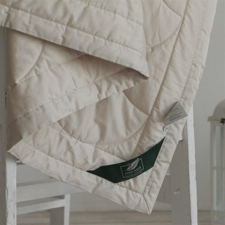 Одеяло Flaum Farbe 200х220 легкое бежевое - фото 15083