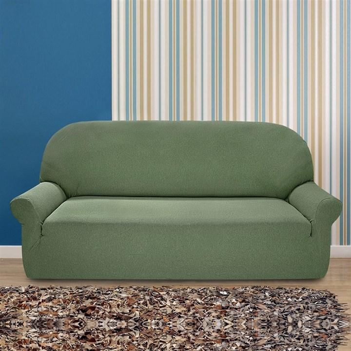 НЬЮ-ЙОРК КИВИ Чехол на 3-х местный диван от 170 до 230 см - фото 20856