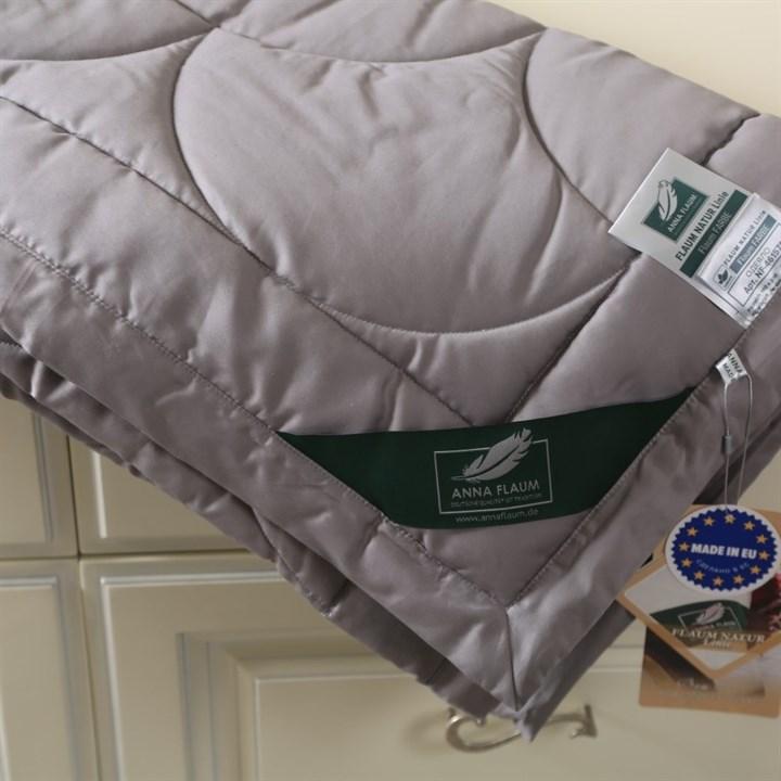 Одеяло Flaum Farbe 150х200 легкое серое - фото 20964