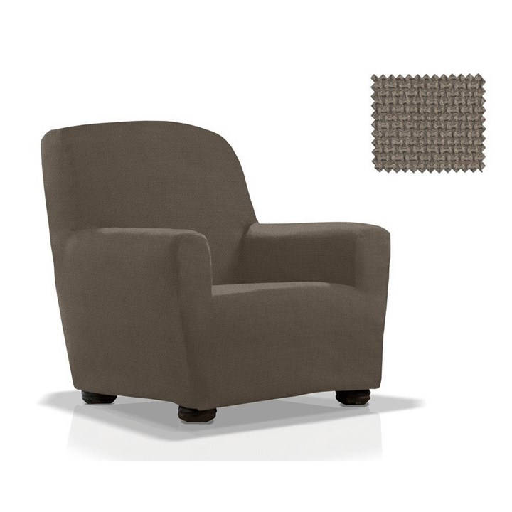 АЛЯСКА ГРИС Чехол на кресло от 70 до 110 см - фото 33931