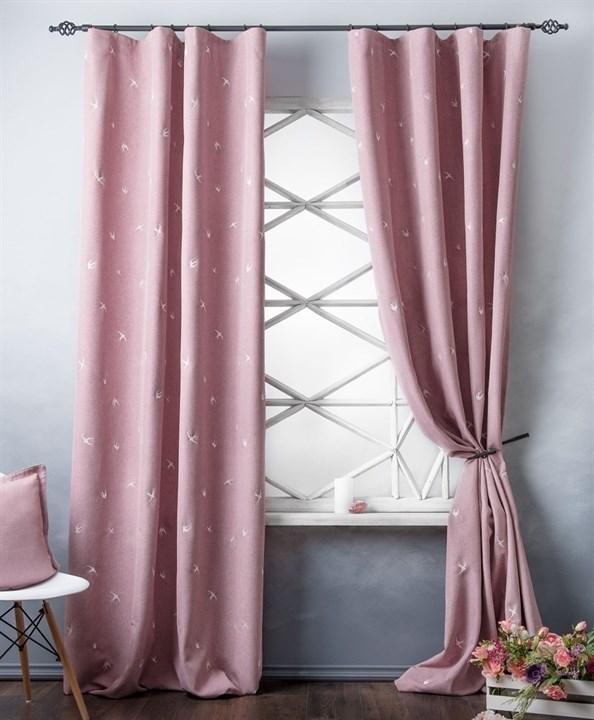 Комплект штор Pasionaria Прайм розовый - фото 86885