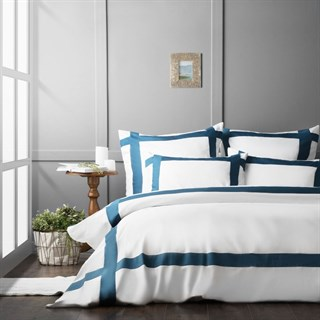 Постельное белье Pasionaria Гэтсби евро синее