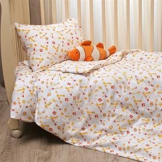 Комплект в кроватку Li-Ly Жирафик оранжевый