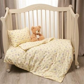 Комплект в кроватку Li-Ly Мишка желтый