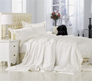 Шелковое постельное белье Монпелье евромакси
