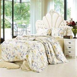 Шелковое постельное белье Mesanie евромакси