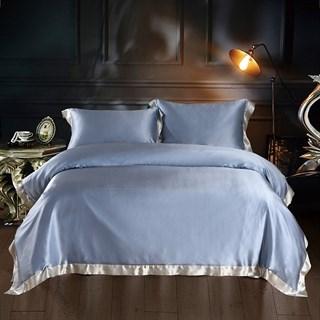 Шелковое постельное белье Plaza Sky евро