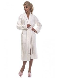 Casharel Халат женский XL (50-52) кремовый