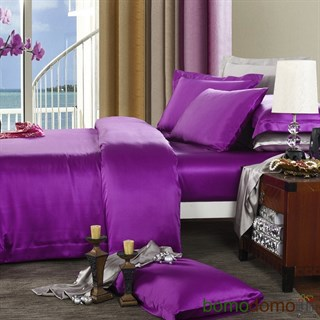 Шелковое постельное белье Violet евромакси