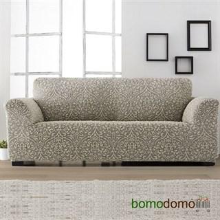 ЛЮКС-2 ГРИС Чехол на 4-х местный диван от 230 до 270 см