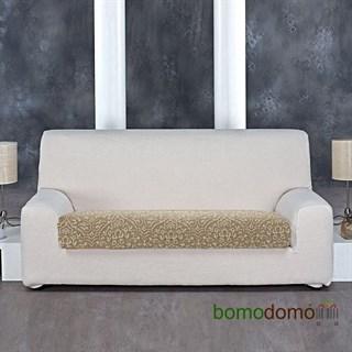 ЛЮКС-2 БЕЖ Чехол на диванную подушку 140-200 см