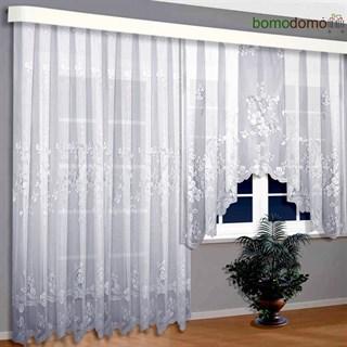 Тюль на балконное окно с дверью Каприз