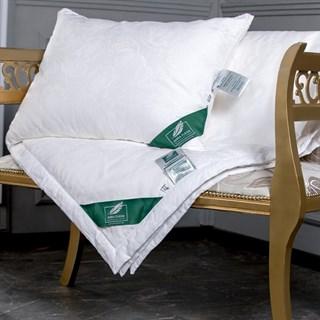 Шелковая подушка Flaum Eleganz 40х60 мягкая