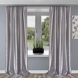Готовые шторы Шарлиз серебро