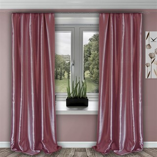 Готовые шторы Шарлиз розовые
