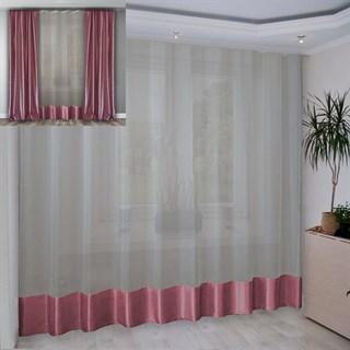 Портьера Шарлиз розовая