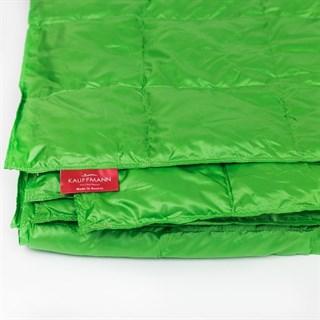 Одеяло пуховое Kauffmann Travel plaid Green tea 140х200 легкое
